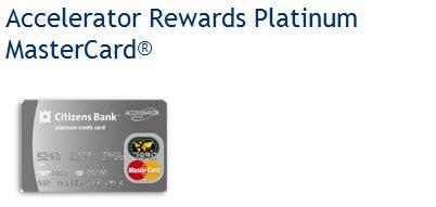 citizens bank  credit card